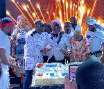 Shatta Wale holds plush birthday party
