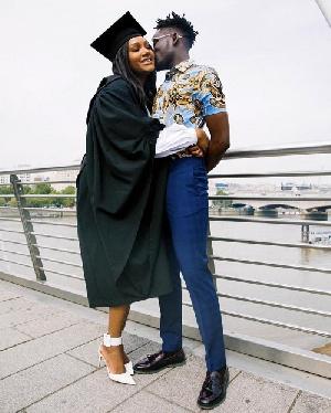 Mr. Eazi and girlfriend Temi Otedola