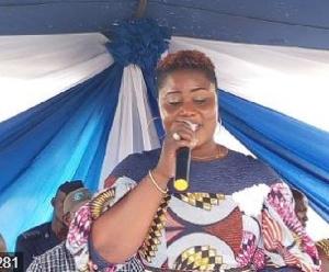 Member of Parliament for Jomoro, Dorcas Afo Toffey