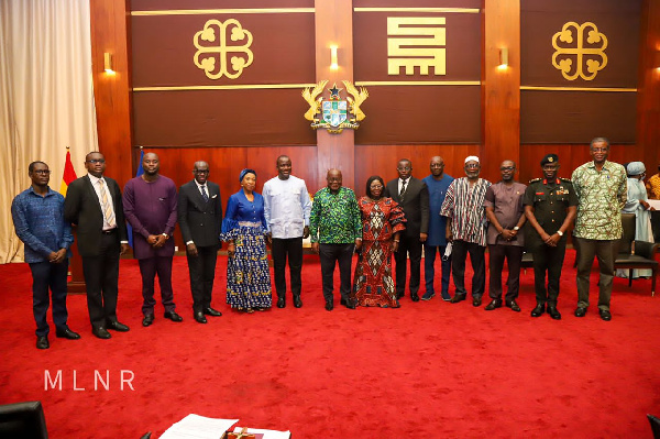 Abu Jinapor heads Ghana Boundary Commission as Akufo-Addo demands action on boundary demarcation