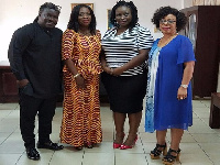Bice Osei Kuffour, Catherine Afeku, Nana Seiwaa Osbourne and Nana Yaa Sarpong