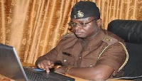 Chief Public Relations Officer of Ghana Prisons Service, Supt. Courage Atsem