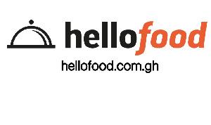 Hellofood Ghana logo