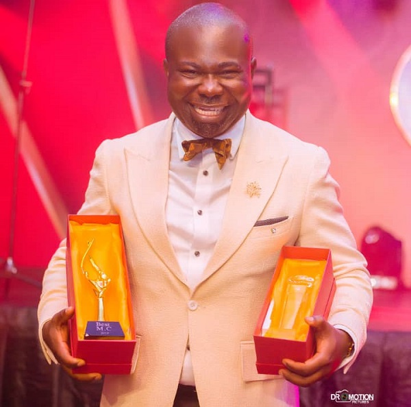 Kabutey My Mc awarded Best Event Mc at Ghana Events Industry Conference 2019