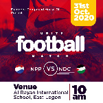 NDC, NPP supporters to engage in Football match on October 31