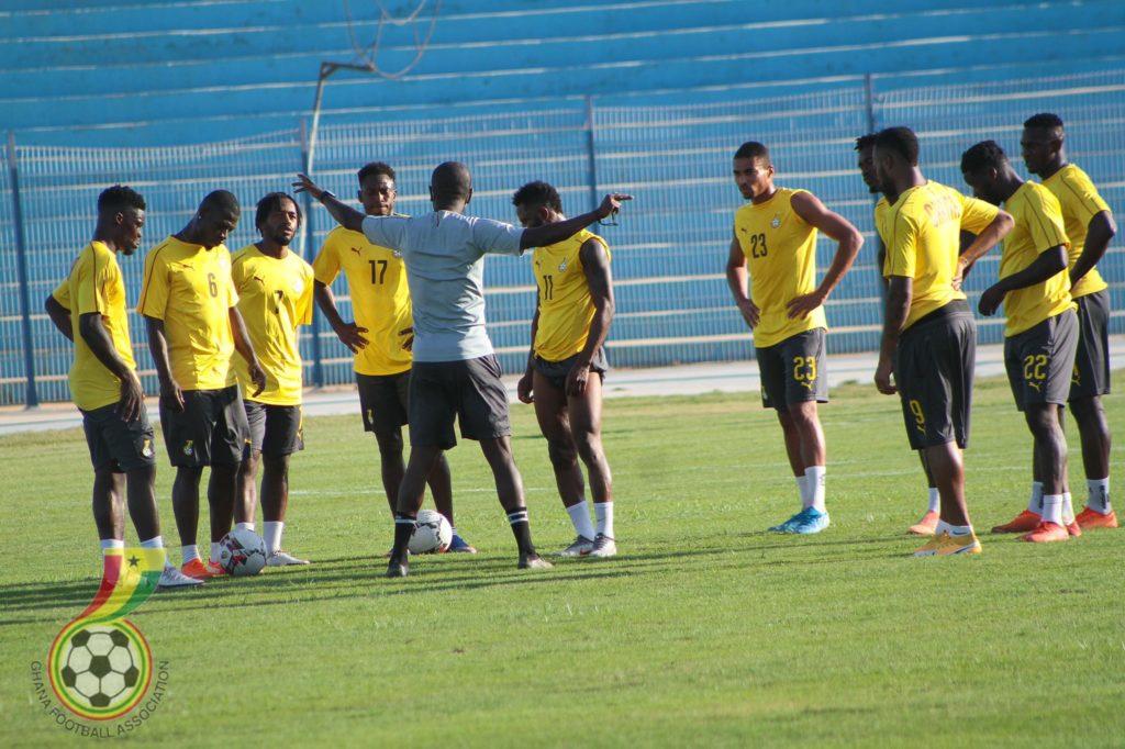 Black Stars hold first training in Cape Coast ahead of Ivory Coast friendly