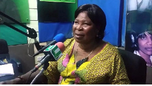 Akua Donkor, Presidential Candidate of the Ghana Freedom Party (GFP)