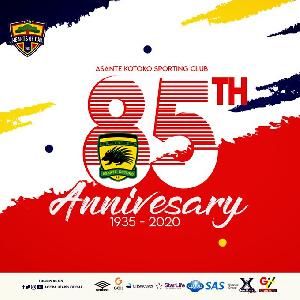 Asante Kotoko is 85 years today