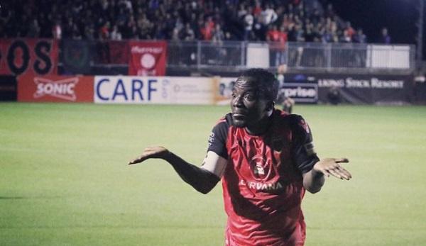 Solomon Asante delighted with win over New Mexico United