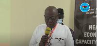 Deputy health minister, Mahama Asei Seini