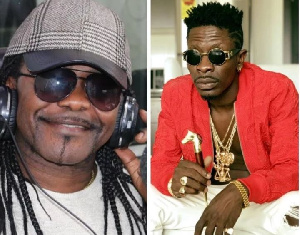 Acheampong (left) said patience and respect for the fans is key for a successful music career
