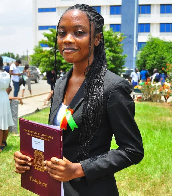 Hannah Ann Enyan is the youngest Chartered Accountant