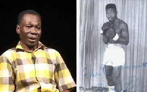 World Boxing Champion, D.K. Poison