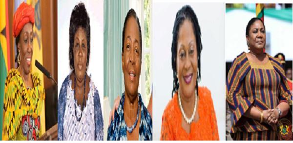 Meet Ghana's 5 First Ladies
