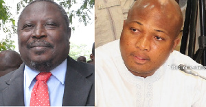 Martin Amidu and Samuel Okudzeto Ablakwa