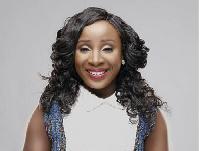 Radio and television personality, Naa Ashorkor