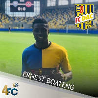 Ernest Boateng joins DAC FC