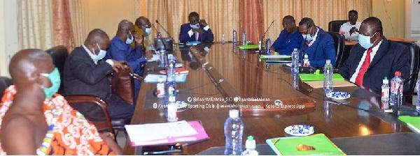 Board of Directors of Asante Kotoko