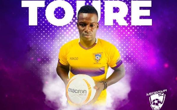 Striker,  Amed Toure