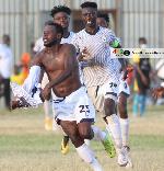 Emmanuel Clottey targets GPL goal king after scoring late goal against Kotoko