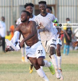 Emmanuel Clottey Goal