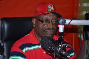 WATER MINISTER Kwaku Agyemang Mensah