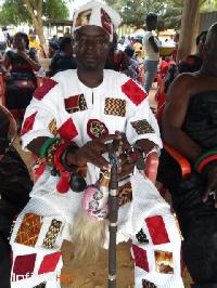 Sanahene of Akuasi in the Birim North District, Nana Kofi Sarpong Kumankuma I