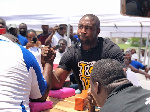 Dr Bernard Oko-Boye overpowered Inspector Tony Mensah