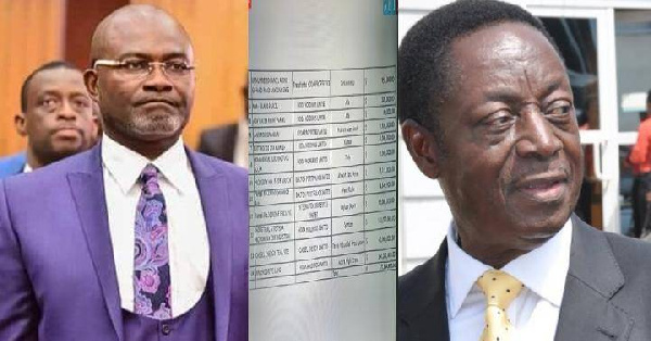 'Grossly misconceived' – Duffuor warns Ken Agyapong over prejudicial claims