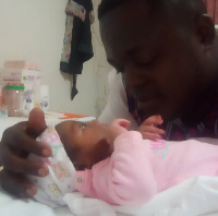 Chemphe with his new born baby
