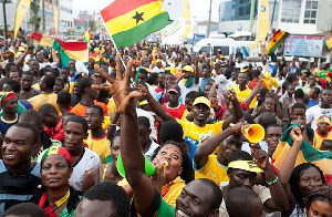 Ghanaians Excited