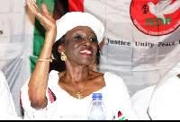 Nana Konadu Agyeman-Rawlings - NDP flag bearer