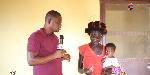 Madam Abiba Adamu speaking with DJ Nyame of SVTV Africa Foundation