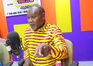 Former Legislator for La-Dade Kotopon Constituency, Nii Amasah Namoale