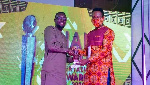 Boga Ali Hashim wins 'Writer of the Year' at the Ghana Youth Entertainment Awards