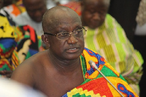 Ashanti Regional Minister Simon Osei-Mensah