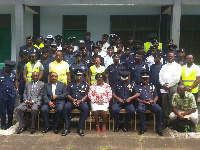 The Police MTTU personnel trained by NRSC