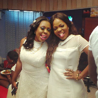 Mzbel and Afia when they were friends