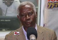 Brigadier General Joseph Nunoo-Mensah, former Chief of Defence Staff