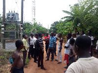 PDS staff decided to switch off the transformers in the area, cutting off the power supply