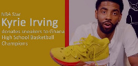 Kyrie Irving has donated pairs of sneakers to the champions  the Sprite Ball Championship