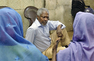 Kofi Annan Visit