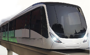 The agreement for the Accra Sky Train Project was signed in November 2019