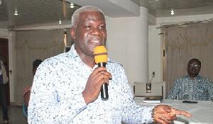 General Secretary Of The ICU Mr. Solomon Kotei