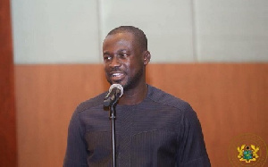 Eugene Arhin is Acting Director of Communications at the Presidency