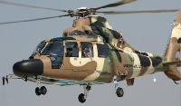 File photo of a military helicopter