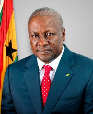 President John Mahama Potriat