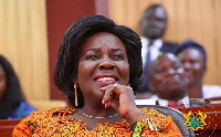 Minister for Sanitation and Water Resources, Cecilia Abena Dapaah