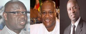 Oppong Ofosu, Alex Segbefia and Kofi Armah Buah