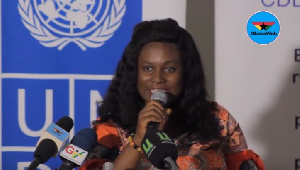 Research analyst at CDD-Ghana, Mildred Adzraku